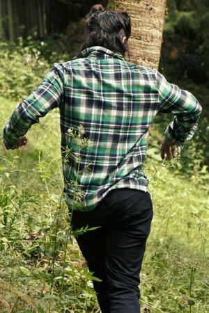 Camisa Xadrez Green Light