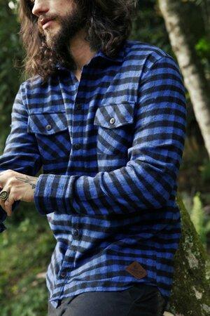 Camisa Xadrez Blues