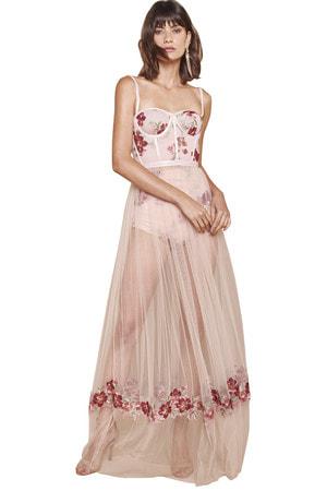 Vestido Longo Dorothy Desfile
