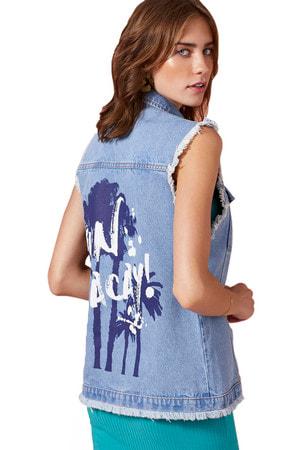 Colete Jeans Destroyer