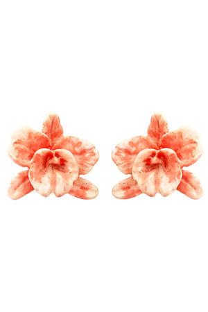 Brinco Orquídea Resina