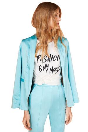 Blusa Silk Fashion is My Mood
