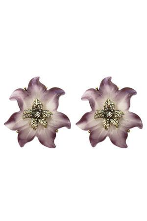 Brinco Cornelian Flower