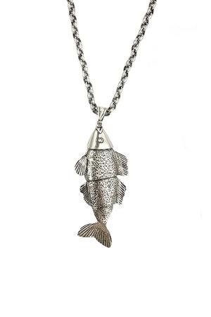 Colar Longo Peixe