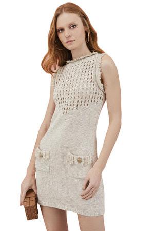Vestido Curto Tricot