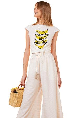 Blusa Smile Banana