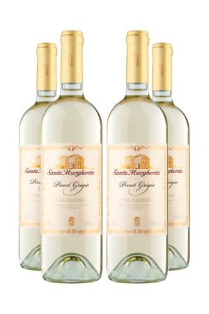 Kit Vinho Santa Margherita Pinot Grigio Pague 3 Leve 4