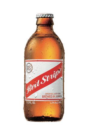 Cerveja Lager Red Stripe 330ml