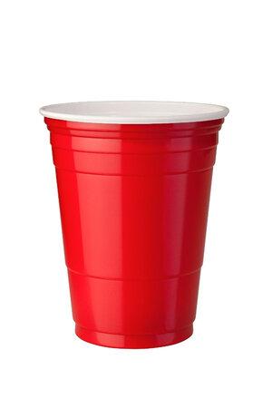 Copo Vermelho Plástico Para Festas - Red Cup - 50 Unidades