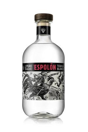 Tequila El Espolón Blanco 100% Puro Agave