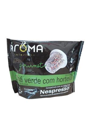 Chá Verde Com Hortelã Aroma - 10 Cápsulas