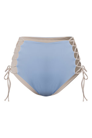 Hot Pant Blue Nude