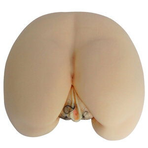 Masturbador Bumbum com Vagina Peluda