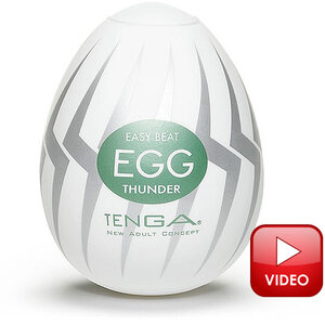 Masturbador Thunder Tenga Egg Original