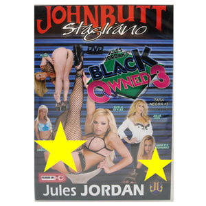DVD JohnButt Stagliano - Black Owned 3