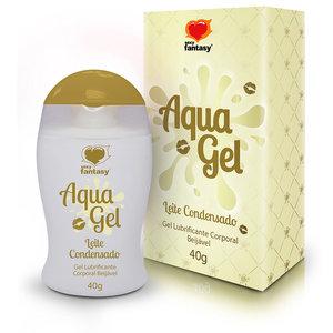 Lubrificante Beijável de Leite Condensado 40g Aqua Gel