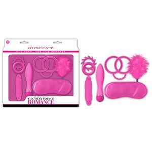 Kit Erótico The Mean Couple Romance Pink