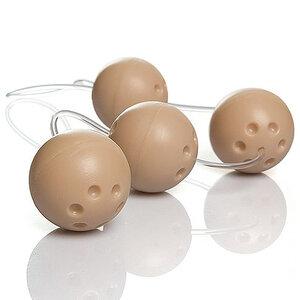 Conjunto de 4 Bolas Pompoar Ben-Wa Marfim