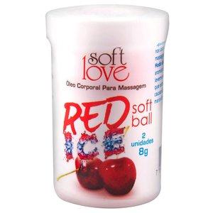 Bolinha Funcional Beijável Red Ice com 2 Unidades