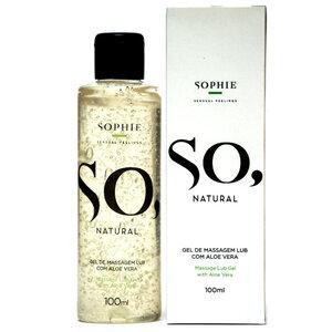 Lubrificante com Aloe Vera - So, Natural 100 ml - Linha Sophie