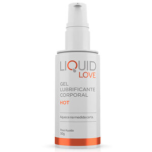 Excitante Unissex que Aquece na Medida Certa Liquid Love Hot 50g