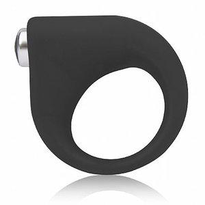 Anel Vibratório Love Ring Sexy Black de Multivelocidade 5 cm x 3 cm