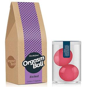 Bolinha Funcional Orgasm Ball Versão Excited com 2 Unidades