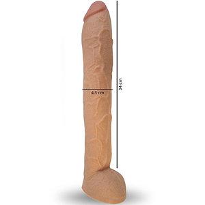 Pênis Real Peter Hard 34 cm