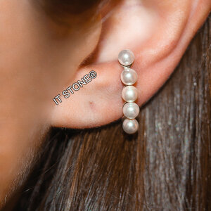 Piercing Falso Hook Pearls (unidade)