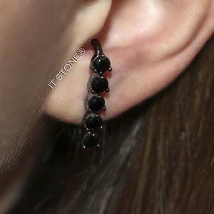 Ear Hook Angelique Negro
