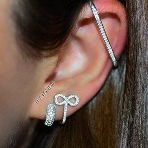 Mix Argolinha, Hook Infinito e Piercing Cartilagem
