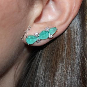 Ear Cuff Liberty Turmalina