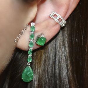 Ear Hook Justine Esmeralda Fusion
