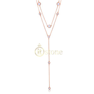 Choker com Gravatinha Tiffy Rosé