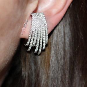 Ear Hook Hoops Luxo