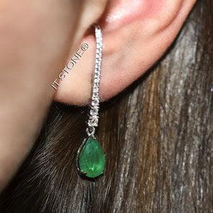 Ear Hook Classy Gota Esmeralda Fusion