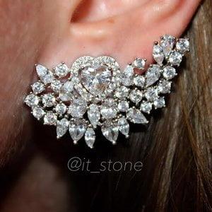 Ear Cuff Royal Heart Luxo