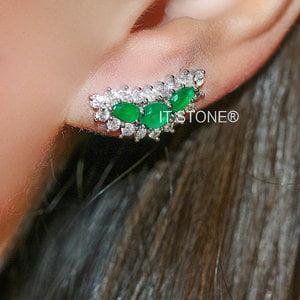 Ear Cuff Caitlin Esmeralda