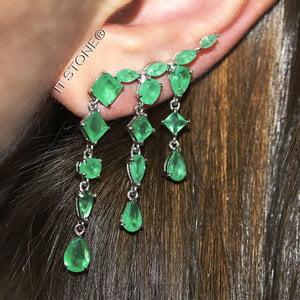 Ear Cuff Marion Esmeralda Fusion