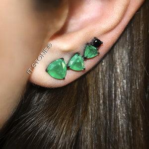 Ear Cuff Helena Esmeralda Fusion