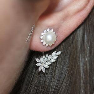 Ear Jacket Sun Pearl