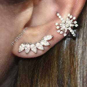 Mix Ear Cuff Navetes