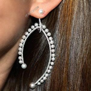 Brinco Majestic Pearls Luxury