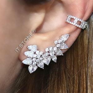 Mix Ear Cuff Laviee Luxo