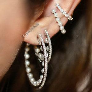 Mix Argolas Cravejadas Pearls
