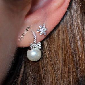 Brinco Lacinho Pearl