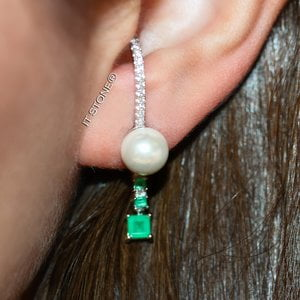 Ear Hook Shae Pearl