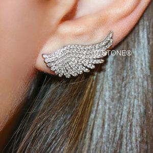 Ear Cuff Asa Cravejado
