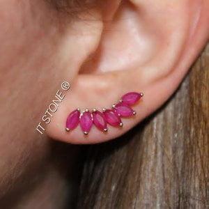 Ear Cuff Navetes Rubi
