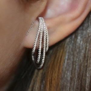 Ear Hook Hoops Slim